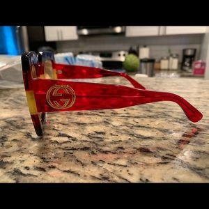 Gucci Accessories - Authentic Gucci Square-frame acetate sunglasses